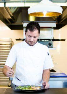 Chef Calum, Cavalli Wine Estate. Luxury food and wine tours, Cape Town, Africa.