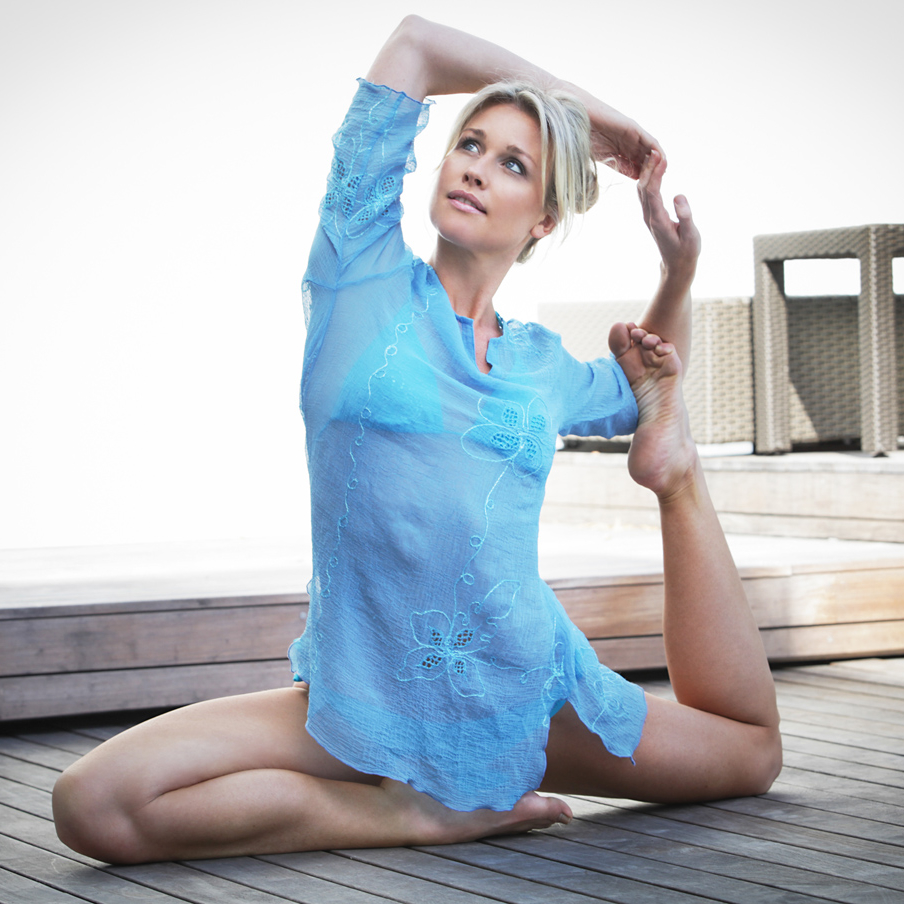 Sharni Quinn, our Wellness Ambassador.