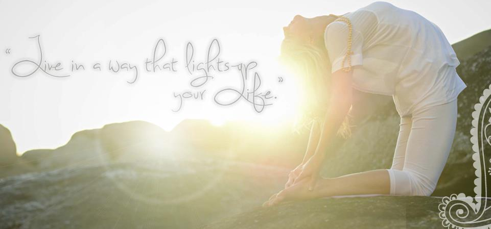 Follow the Sun with our Yoga Angels.