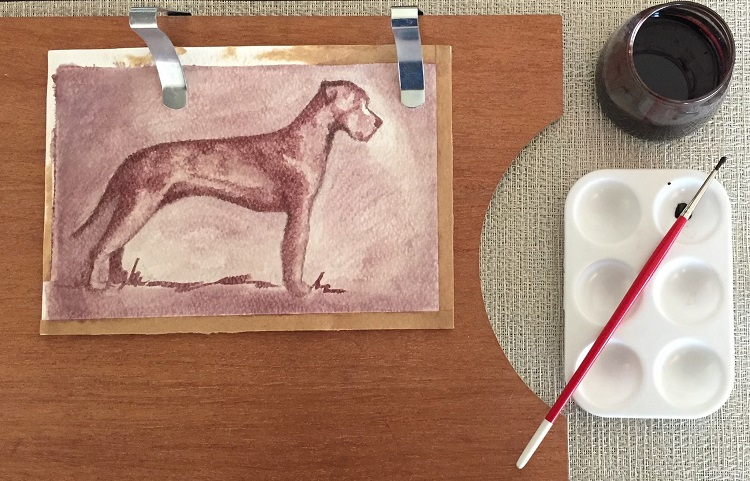 Paint with wine - wellness and epicurean indulgences combined!