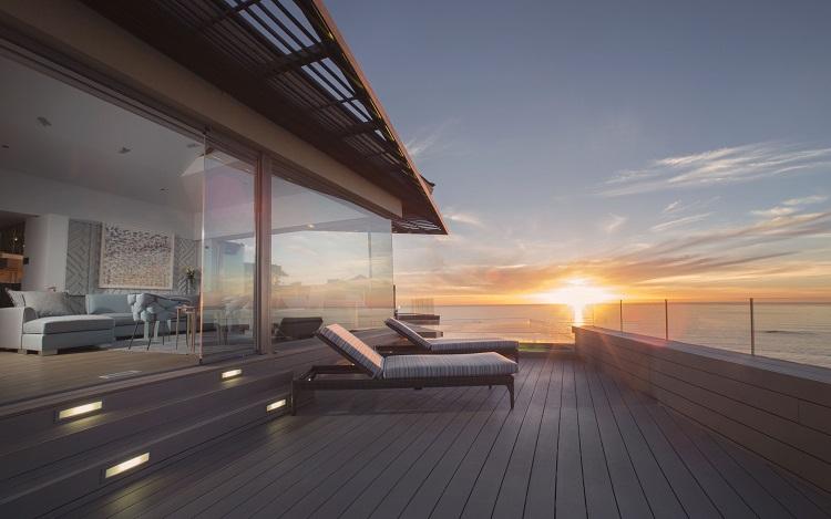 Enjoy breathtaking sunsets.
