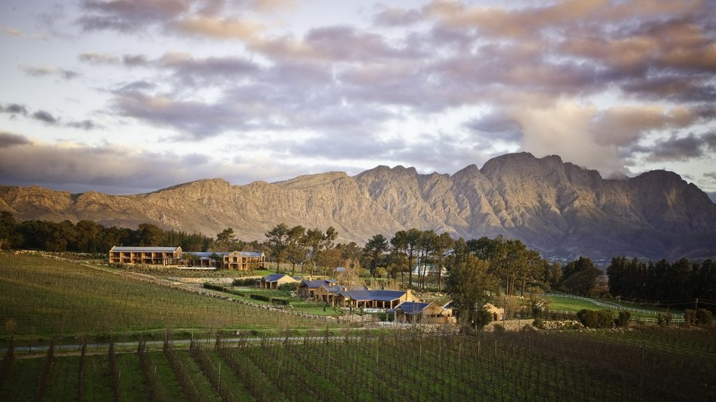 La Residence: Your sanctuary in the winelands.