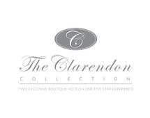 the clarendon logo