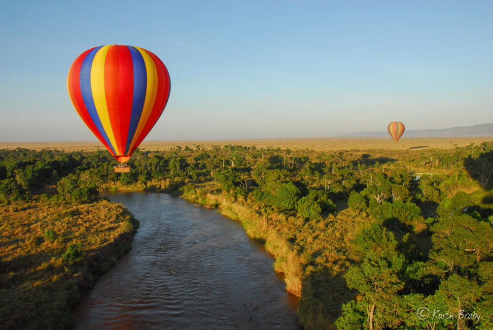 Hot Air Balloon Tanzania East Africa
